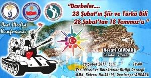 Ankara'da 28 Şubat, 'Belgesel-Şiirlerle' Hatırlanacak