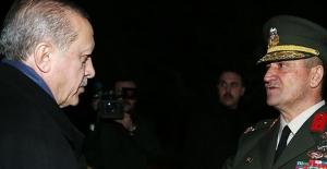 Cumhurbaşkanı Erdoğan 2. Ordu Komutanlığını Ziyaret Etti