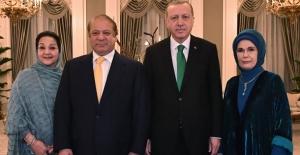 Cumhurbaşkanı Erdoğan, Pakistan Başbakanı Şerif ile Bir Araya Geldi