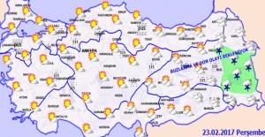 Doğu ve Güneydoğu Anadolu Bölgesi Hariç, Diğer Yerlerde 3 İla 6 Derece Artacak