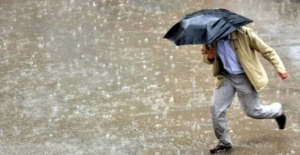 Trakya Kesiminde Kuvvetli Yağış Uyarısı