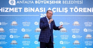 """Cumhurbaşkanı Erdoğan: CHP Lideri Külliye'ye Önce """"Gelmem"""" Dedi, Sonra """"Geldi"""""""