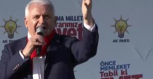 Başbakan Yıldırım: AK Parti Düşmanlığı Yaparken Millete Düşmanlık Yapıyorlar