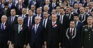 Cumhurbaşkanı Erdoğan AYM'nin 55. Kuruluş Yıl Dönümü Törenine Katıldı