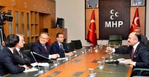"""MHP'li Usta: """"Türkiye Bir Tercih Noktasına Getirilmemeli"""""""