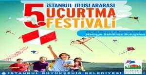 5. İstanbul Uluslararası Uçurtma Festivali Başladı