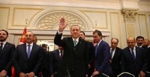 Cumhurbaşkanı Erdoğan, Avrupalı Türk Demokratlar Birliği Heyetini Kabul Etti
