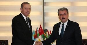 """Destici:""""Cumhurbaşkanı Erdoğan'ın Genel Başkanlığı Ülkemiz Ve Milletimiz İçin Hayırlı Olsun"""""""