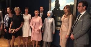Emine Erdoğan NATO Zirvesinde Eşler İçin Programa Katıldı, Müze Gezdi