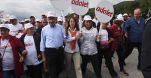 """CHP'nin """"Adalet Yürüyüşü""""nün 10. Günü"""