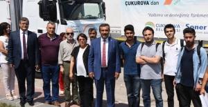 Çukurova'dan Türkmenler İçin 2 Yardım TIR'ı Yola Çıktı