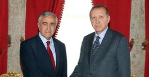Cumhurbaşkanı Erdoğan, KKTC Cumhurbaşkanı Akıncı ile Görüştü