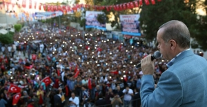 Cumhurbaşkanı Erdoğan: Türkiye Kuzey Suriye'de Devlet Kurulmasına Asla Müsaade Etmeyecek