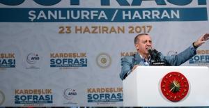 """Cumhurbaşkanı Erdoğan: """"Yürümekle Bir Yere Varamayacaksınız"""""""