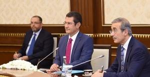 Bakan Canikli, Cumhurbaşkanı Mirziyoyev...