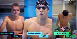 Dünyada Bir İlk: Rekortmen Yüzücüler Yan Yana Yarışıyor!