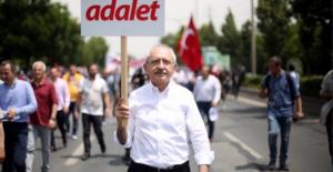 Kılıçdaroğlu Adalet Yürüyüşü'nün 17. Gününde