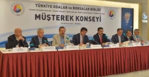 """TOBB Başkanı Hisarcıklıoğlu: """"Son 6 Ayda Türkiye Genelinde 1,2 Milyon Kişiye İlave İstihdam Sağladık"""""""
