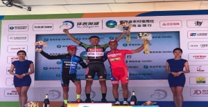 Tour of Qinghai Lake'de 4.Etap Birincisi Torku Şekerspor