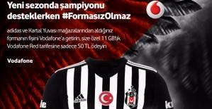 Vodafone'dan 3. Yıldıza Özel Kampanya