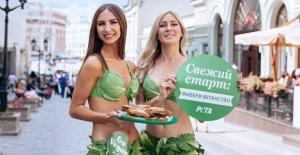 Bikinili 'Marul Hanımlar', PETA'nın Türkiye Vegan Elçileri