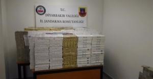 Diyarbakır'da 21 Bin 190 Paket Kaçak Sigara Yakalandı