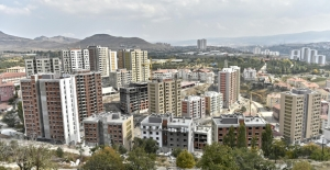 Yapı Ruhsatı Verilen Yapıların Yüzölçümü Yüzde 16,3 Arttı