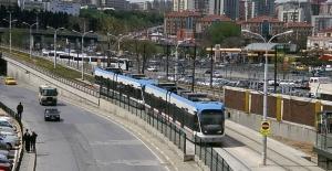 Zeytinburnu Tramvay Hattı 2019'da Yerin Altına Alınacak
