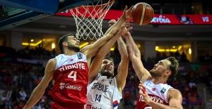 A Milli Erkek Takımımız Sırbistan'a Mağlup Oldu