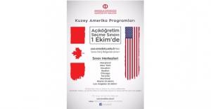 Açıköğretim Fakültesi Kuzey Amerika Programlarına Giriş Sınavı 1 Ekim'de Yapılıyor