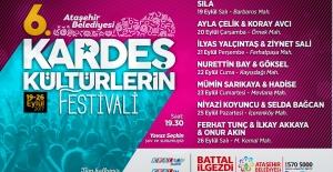 Ataşehir'de Kardeş Kültürlerin Festivali Başlıyor