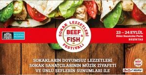 Beşiktaş Belediyesi Etiler Sanatçılar Parkı'nda Sokak Lezzetleri Festivali Gerçekleştiriyor