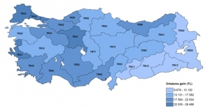 En Yüksek Gelir TR51 (Ankara) Bölgesinin