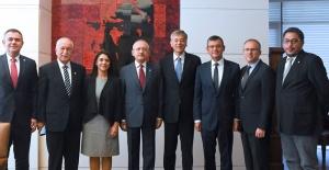 Kılıçdaroğlu Türk Eczacıları Birliği İle Görüştü