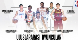 NBA 108 Uluslararası Oyuncu İle Rekor Kırdı