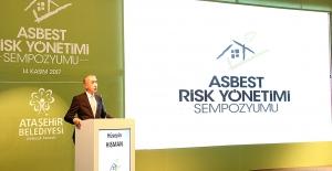 Ataşehir'de Asbest Maddesine Dikkat Çekildi