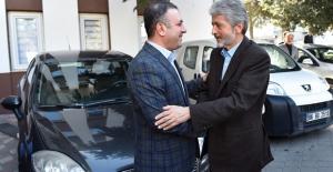 Başkan Tuna'dan Başkan Ercan'a Sürpriz Ziyaret
