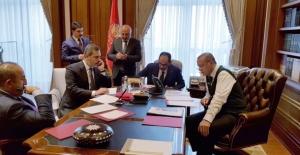 Cumhurbaşkanı Erdoğan, Trump İle Görüştü