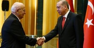 Cumhurbaşkanı Erdoğan'dan Kahraman'a Hayırlı Olsun Ziyareti