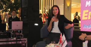 Ebru Şallı Sağlık Ve Güzellik Önerilerini Ankaralılarla Paylaştı