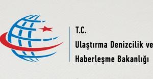 Ulaştırma Bakanlığı'ndan Gemi Açıklaması