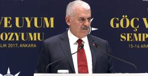 Başbakan Yıldırım: Mültecilerle İlgili Yetkiyi Göç İdaresi Genel Müdürlüğü'ne Devrediyoruz