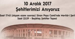 Beşiktaş Şehitlerine Anma Töreni Düzenlenecek