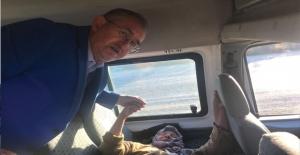 CHP Milletvekili Sertel Hatice Ninenin Dramına Tanık Oldu