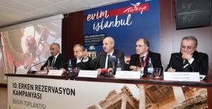"""Kültür ve Turizm Bakanı Kurtulmuş:  """"Erken Rezervasyonu Güçlü Şekilde Duyurmalıyız"""""""