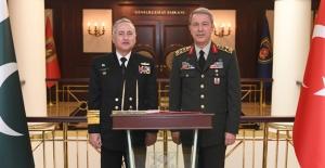 Orgeneral Akar, Oramiral Abbasi'yi Kabul Etti