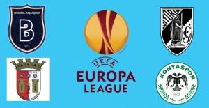 UEFA Avrupa Ligi'ndeki Temsilcilerimiz Kader Maçlarına Çıkıyorlar