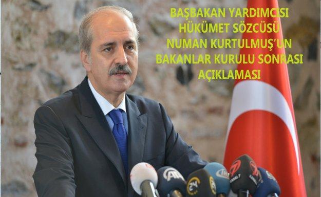 Başbakan Yardımcısı Kurtulmuş : Ankara Saldırganı İçin 'İsmi Başka Bir Şey Olabilir
