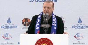Cumhurbaşkanı Erdoğan: Biz Sadece Kendi İstiklalimizi Ve İstikbalimizi Güvence Altına Almanın Peşindeyiz