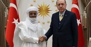Cumhurbaşkanı Erdoğan Nijer Başbakanı Rafini'yi Kabul Etti